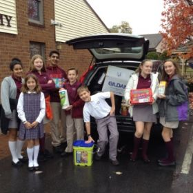 Wilkes-Barre Academy holds donation drive