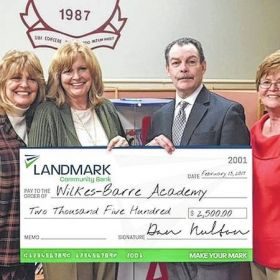 Wilkes-Barre Academy receives grant